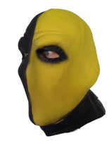 Slade Wilson Yellow Deathstroke Mask