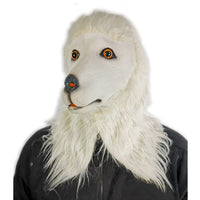 White Poodle Mask