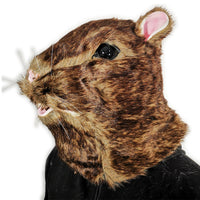 Furry Rat Mask with matching Gloves