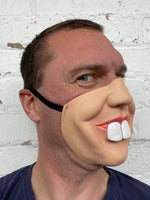 Bunny 'Buck Teeth' Rabbit Teeth Half Face Mask