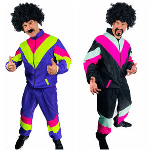 80s Shell Suit Fancy Dress Costumes