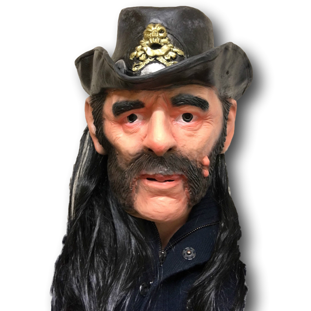 Lemmy from Motorhead Mask