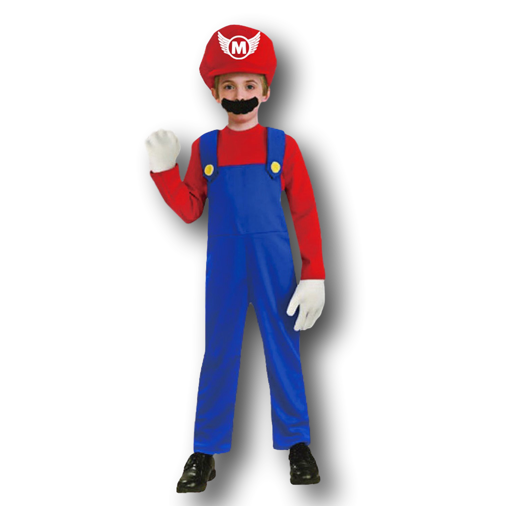 Mario Bros Kids Mario Costume