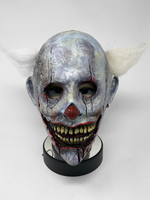 Doc Brown Hard Resin Clown Face Mask