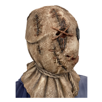 'Strawman' Scarecrow Burlap Style Latex Full Head Mask