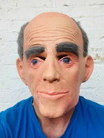 Aussie John' Old Bald Man Mask