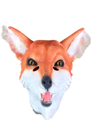 Full Head Latex fox Mask