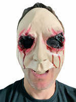 Scary Eyes Halloween Mask Bloody Face Mask Horror Gouged Out Eye Mask