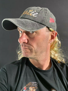 Joe Exotic Baseball Cap with Blonde Hair Attached