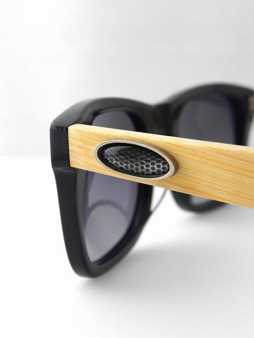 Carbon Fiber Oval Design Sunglasses