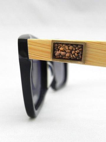 Coffee Beans Rectangular Design Sunglasses