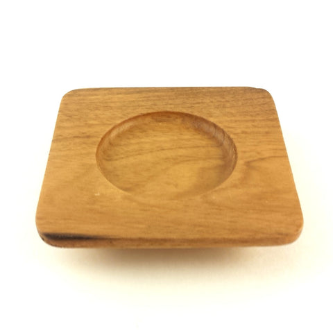 wooden saucer - Square