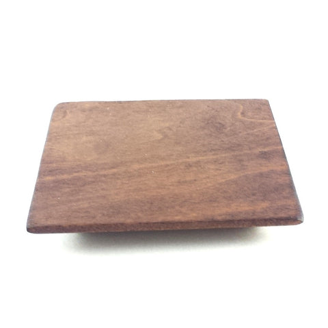 wooden saucer - Square 2