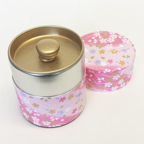Matcha storage tin