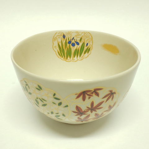 Matcha bowl - Season's flowers