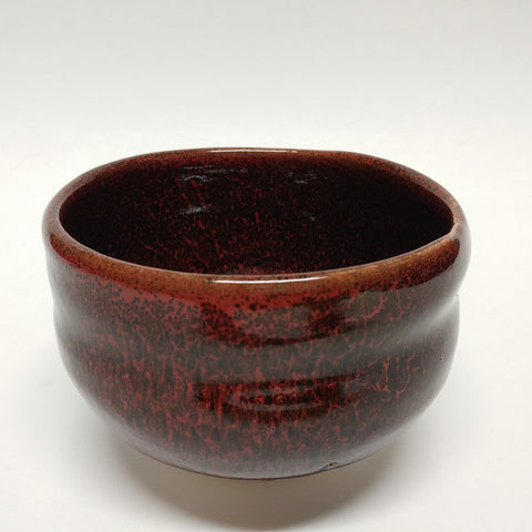 Matcha bowl - Tokoname Red Black