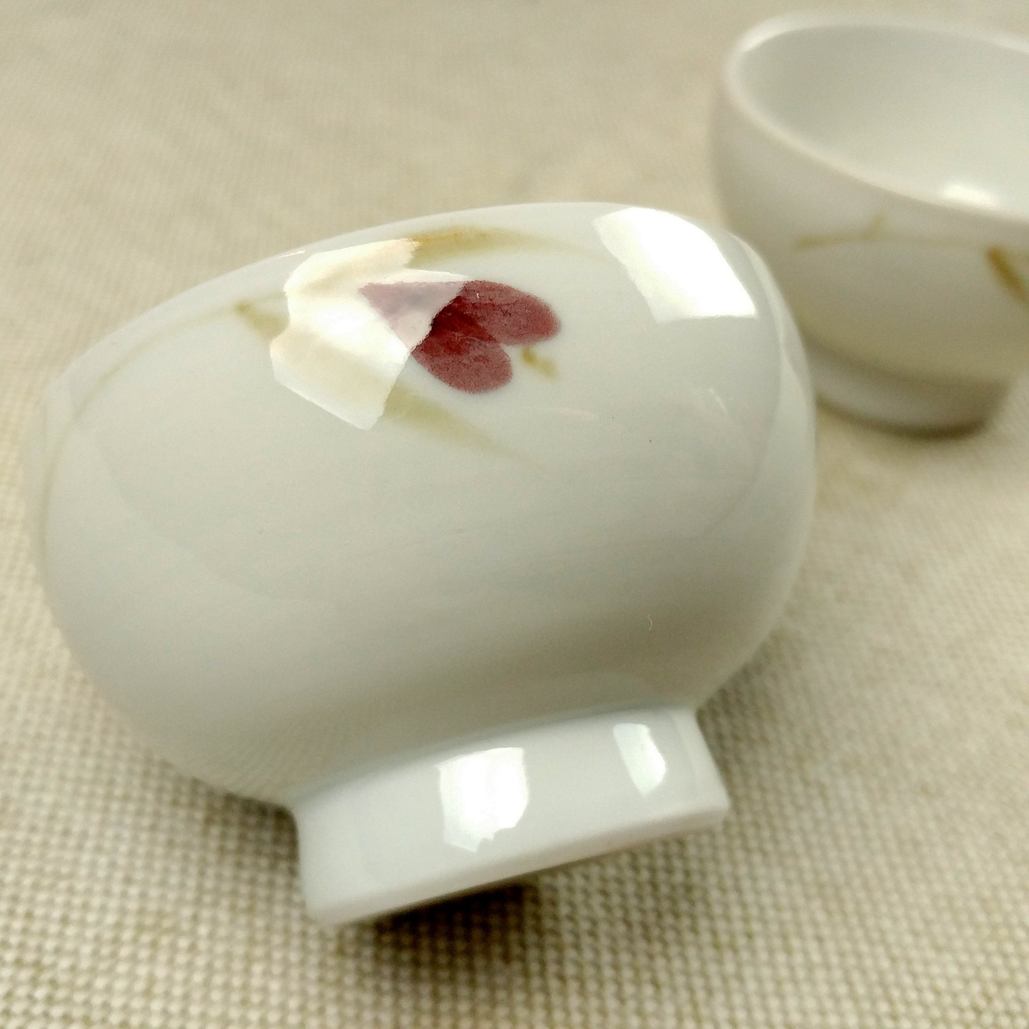 Korean porcelain teacup - Yeji