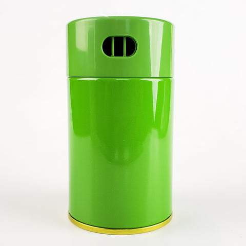 Matcha storage tin shaker