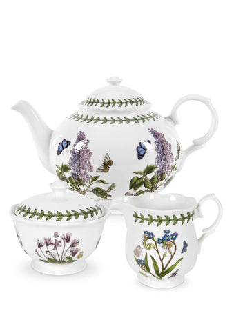 Portmeirion Botanic Garden 3 Piece Tea Set