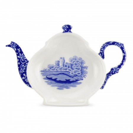Spode Blue Italian Teabag tidy Set of 4
