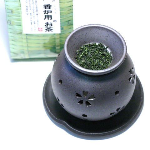 Green Tea Incense Burner - morimasa