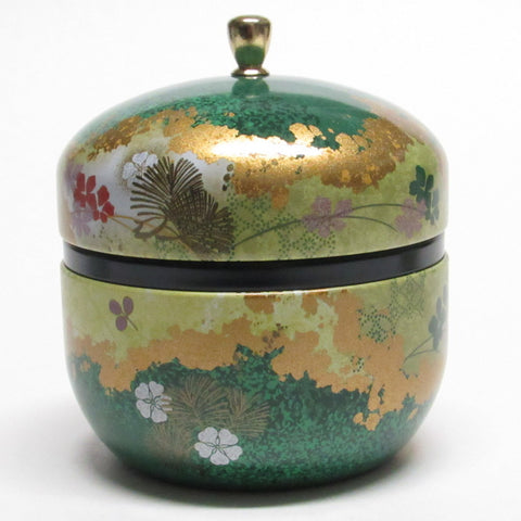 tea tin - Suzuko Flower