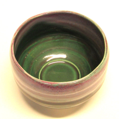 Matcha bowl - purple green Mino