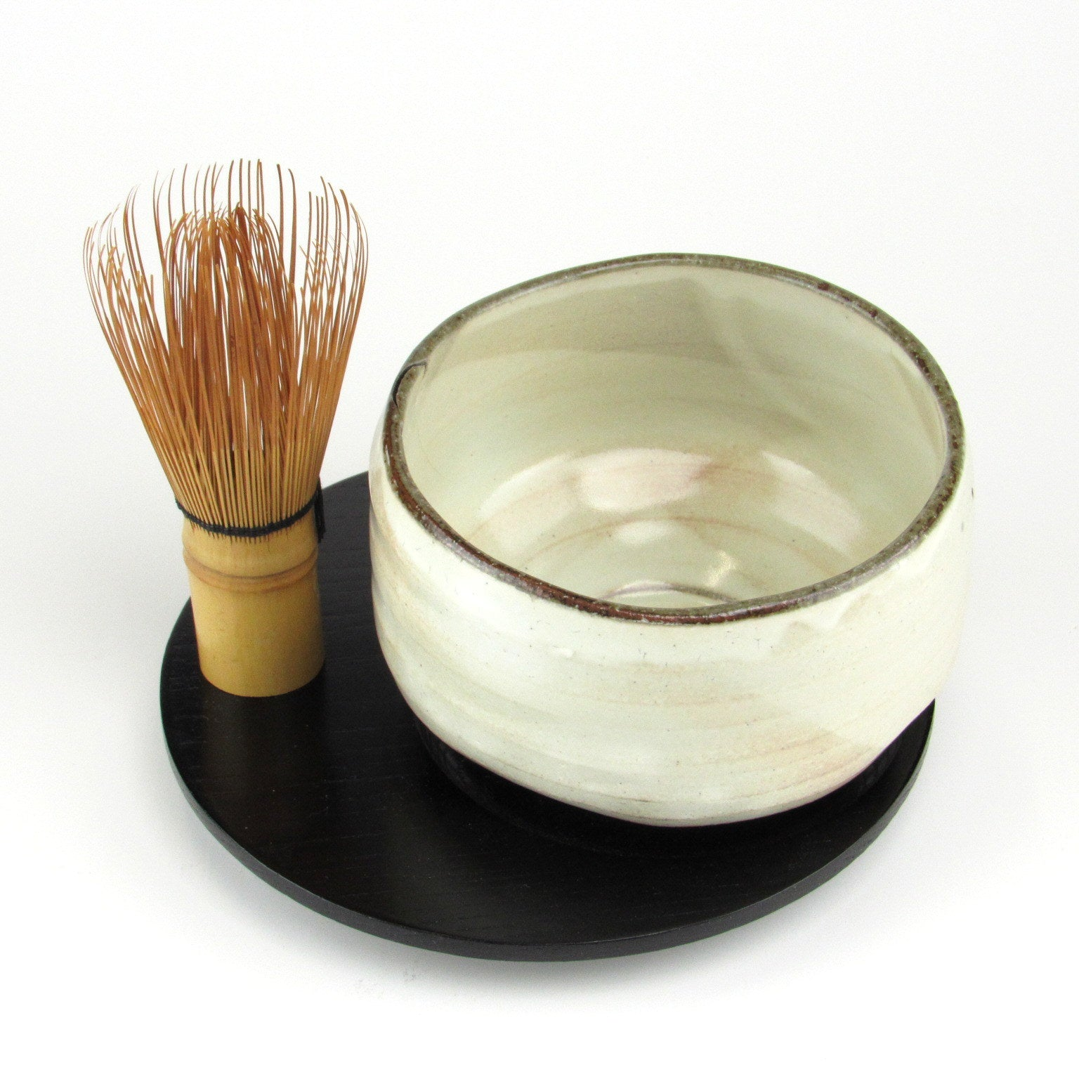 Matcha bowl Chasen holder