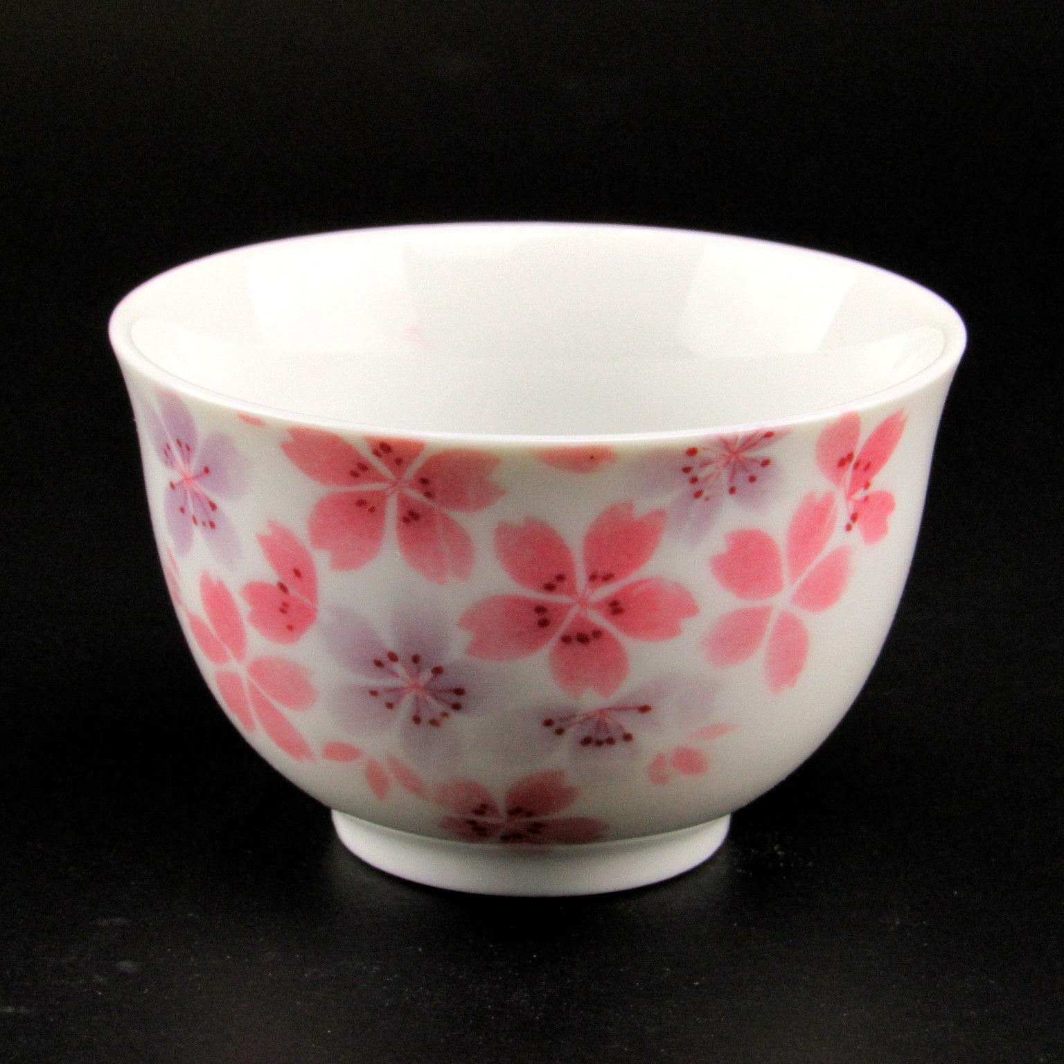 Minoyaki teacup - small flower
