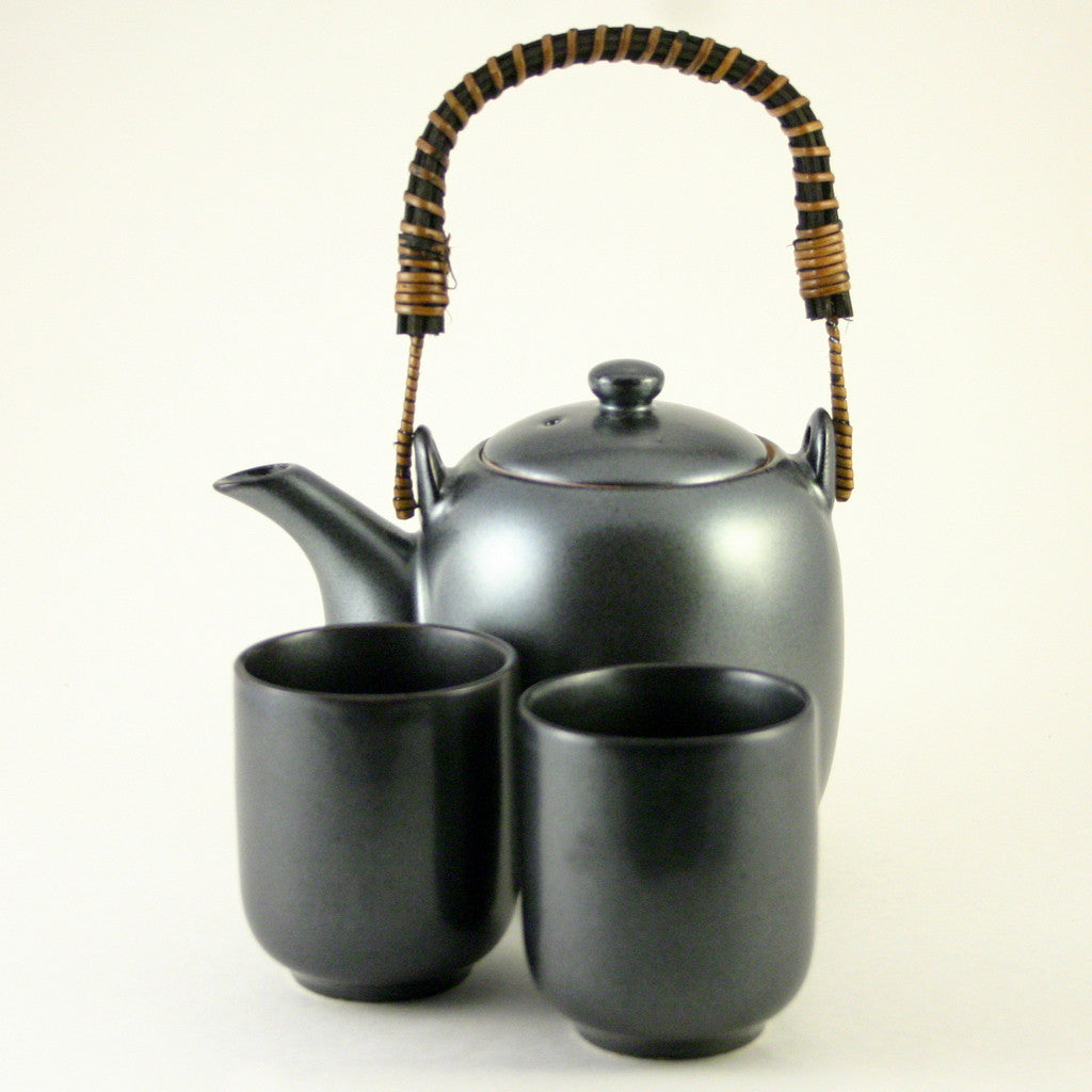 tea set - Natsume Iron Black