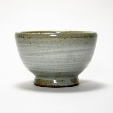 Korean stoneware teacup - brush
