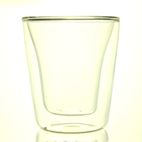 Double Wall Glass Cup 200ml
