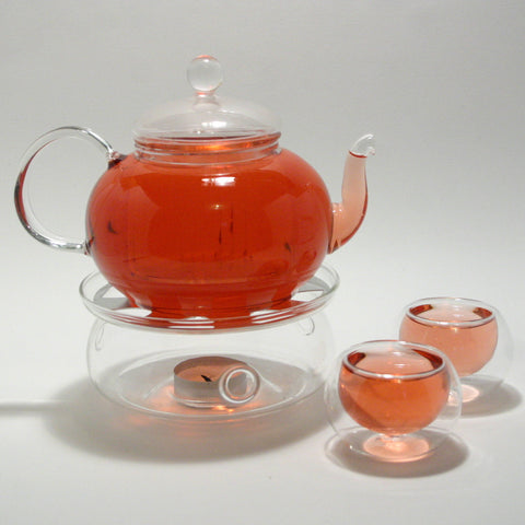 Glass Teapot Warmer