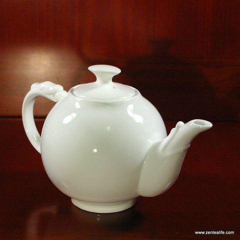 Porcelain teapot-Dragon