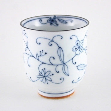 Japanese Mino porcelain teacup 1