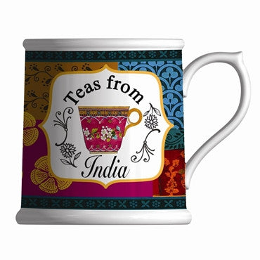 Royal Worcester Bone China Mug - Teas From India