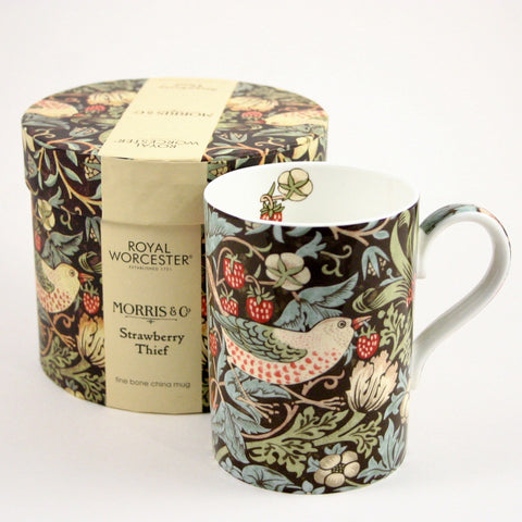 Royal Worcester Strawberry Thief - Gift boxed mug