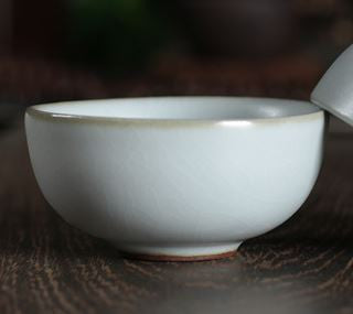 Ru kiln teacup - Moon light