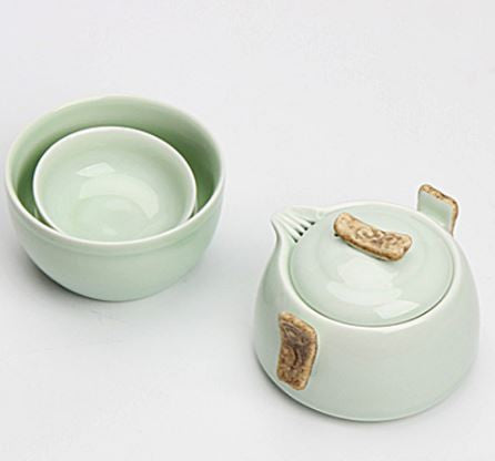Celadon tea for one