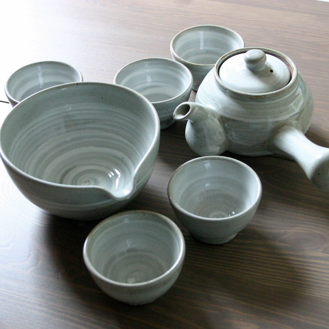 Korean tea set - Brush Touch 5 cups & Korean tea set - Brush Touch 5 cups | Zen Tea | Worldu0027s Teapots Tea ...