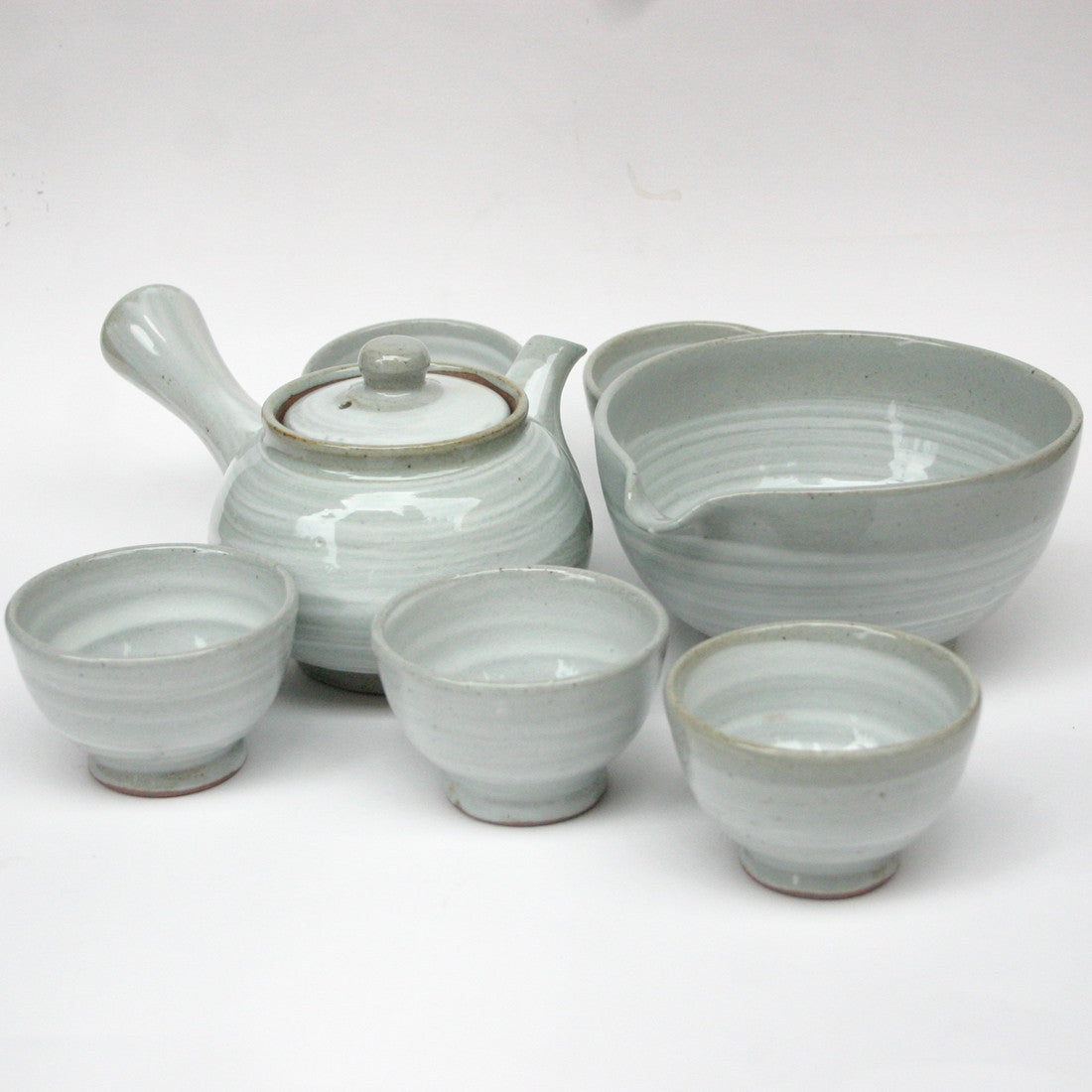 Korean tea set - Brush Touch 3 cups