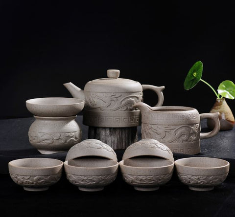 tea set - Auspicious Cloud