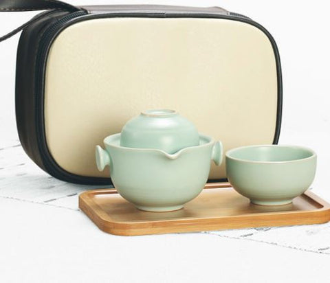 Ruyao travel tea set with bag