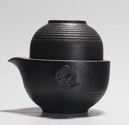 Travel tea set - Zen black