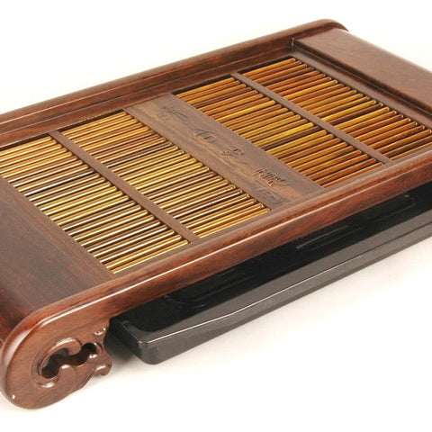 Gongfu tea tray-ebony wood