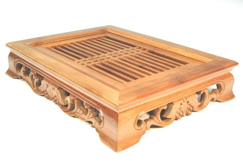 Gongfu Tray Bamboo - Oriental Door small