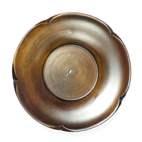 Korean wooden saucer