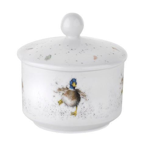 Royal Worcester Wrendale Sugar Pot