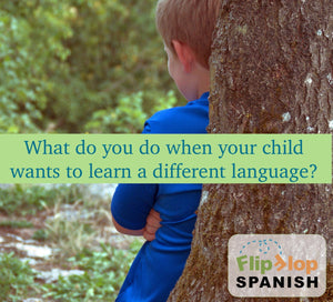 What if my child wants to learn (any other foreign language) instead?