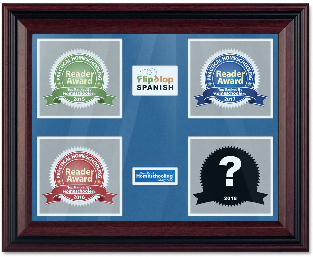 Practical Homeschooling Spanish Curriculum Reader Awards